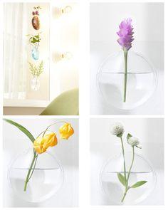 【楽天市場】【宙に浮かんだ様に見える花瓶】KAki Flower Vase【定形外郵便 送料無料】貼って飾れる花瓶!玄関、玄関の姿見、洗面所の鏡、リビング、寝室にGOOD♪+d (プラスディー)(フラワーベース):通販のオファー