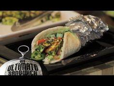 Spicy Indian Paneer Sandwich Wrap Recipe