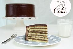 Cakery Friday: Seven Layer Cake | http://paperyandcakery.com/2012/10/cakery-friday-seven-layer-cake.html