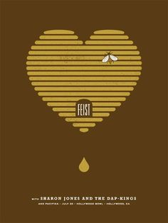 awesome indie music band posters | Feist | 40 Awesome Concert Posters - Yahoo! Music