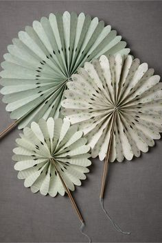 Crinkled Wheel Set (12) in SHOP Décor Decorations at BHLDN