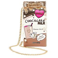 Betsey Johnson Chocolate Milk Bag