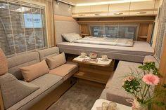 Nieuwe Badkamer Caravan : Als de caravan groot lang genoeg is ontstaat de mogelijkheid