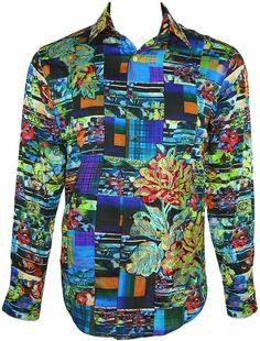 Chesil Beach Limited Edition Floral Shirt, Style RF151611, 100 made