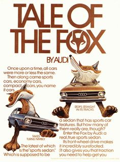 tale of the fox ad from audi