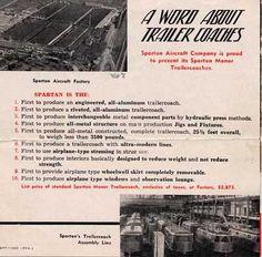 Great Floor Plan And Brochure Info On 1946 Spartan Manor