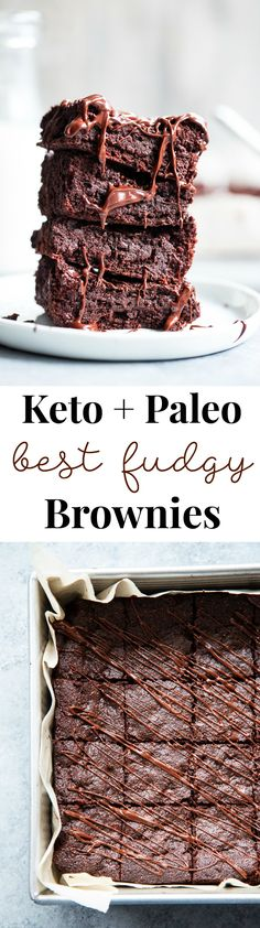 healthy meals for diabetics recipes dinner meals 2017 Dessert Mousse, Paleo Dessert, Dessert Recipes, Dairy Free Recipes, Real Food Recipes, Baking Recipes, Paleo Recipes, Keto Brownies, Low Carb Chocolate