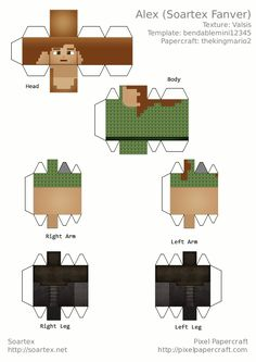 Papercraft Alex (Soartex Fanver)