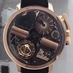 What an amazing piece No this isn't mine. Watches For Men Unique, Luxury Watches For Men, Cool Watches, Patek Philippe, Tag Heuer, Devon, Watch Storage, Omega, Skeleton Watches