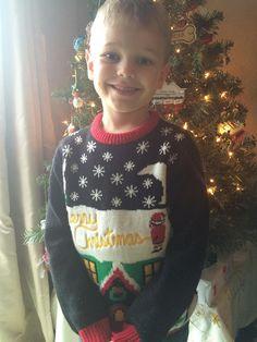 Sokkot kapott az óvónő, mikor meglátta a karácsonyi pulcsit a kisfiún tophir.eu
