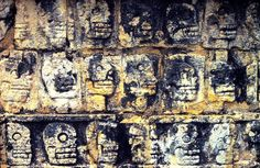 Tzompantli: Gruesome Aztec Skull Walls Contained Severed Human Heads