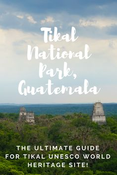 The Ultimate Guide to Tikal National Park in Guatemala. A Wonder of the world and UNESCO heritage site the tikal guatemala mayan ruins. See the tikal temple, tikal star wars, stay in tikal hotels and the tikal inn, see how similar tikal and copan are , tikal guatemala star wars / tikal mayan ruins / tikal pyramids  ☆☆ Travel Guide / Bucket List Ideas Before I Die By #Inspiredbymaps ☆☆  tikal sunrise tour tikal temple 4 tikal weather