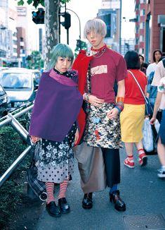 eBook-FRUiTS magazine No.005 Asian Street Style, Tokyo Street Style, Japanese Street Fashion, Basic Outfits, Cool Outfits, Fashion Outfits, Harajuku Fashion, Japan Fashion, Fruits Magazine