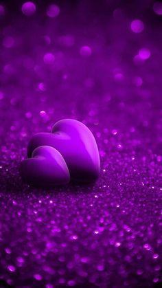 Purple wallpaper for iPhone Purple Wallpaper Iphone, Heart Wallpaper, Love Wallpaper, Colorful Wallpaper, Purple Colour Wallpaper, Purple Love, All Things Purple, Purple Rain, Shades Of Purple