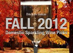 Domestic Sparkling Wine Picks for Fall