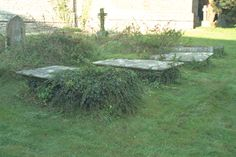 Group of 3 unidentified monuments, in churchyard to South East of St Michael's Church, Monkton Combe Michael Church, St Michael, Images Of England, View Image, Monuments, Stepping Stones, Buildings, Group, Outdoor Decor