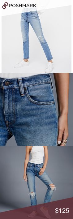 Levi 501 Jeans NWT these are AMAZING!!!  If these fit me I'd be keeping in a heartbeat!  Best denim!!  Sold on free People, revolve, Shopbop, Levi, & Nordstroms to name a few!!  These are Levi's 501 C skinny.   Originally $148.  Size 24 but can prob work for a size 25 as Levi's sometimes stretch out just the right amount to give that great relaxed fit!! Levi's Jeans