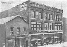 The Potter-Davis Company on the 700 block of Wheeling Avenue.