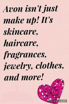 Did you know I don't just sale makeup? I sell skincare, haircare, Fragrance, jewelry, clothes, candles, home decor and being in 2018 health and wellness. What are you waiting on check out my online store and see all the amazing products I have.  youravon.com/tonyasanders