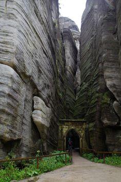 Adršpašské skály, Адршпашские скалы, Чехия