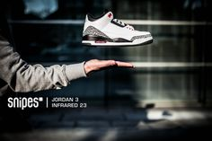 "Air Jordan 3 ""Infrared 23"". Release: 08. März 2014  #sneakerhead #sneakeraddict #hotrelease"
