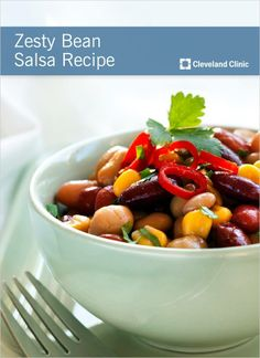 The perfect #salsa for any occasion. #beans #chickpeas #recipe