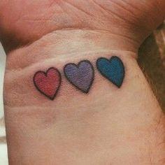 Your Daily Dose of Bi — bi pride tattoos!