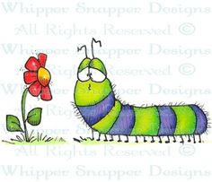 Hugo - Bugs - Rubber Stamps - Shop