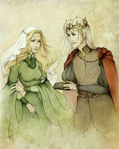The Mad King always had a crush on Lady Joanna Lannister.