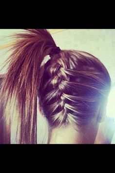 I need to learn how to French braid do I can do this