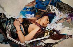 Soey Milk pittura sensuale fra realismo e astrazione Milk Art, Lost In Thought, Surrealism Painting, Grid Design, Photorealism, New Baby Products, Contemporary Art, Artsy, Scene