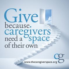Just months ago, we created a safe web haven for caregivers to connect, share and vent. The response has been tremendous, but we need your help to keep fighting for this great cause. We've partnered with Indiegogo to raise funds that will allow us to continue supporting family caregivers. Help us reach our funding goal. Give now! http://www.indiegogo.com/projects/the-caregiver-space/x/2939652