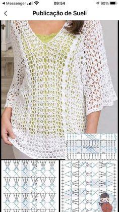 Crochet Woman, Diy Crochet, Crochet Top, Lingerie Patterns, Joelle, Crochet Cardigan, Crochet Fashion, Mode Inspiration, Crochet Clothes