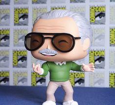 Funko Pop! Custom- Stan Lee Venom Funko Pop, Funko Pop Marvel, Funko Pop Spiderman, Spiderman Art, Marvel Dc, Pop Custom, Custom Funko Pop, Custom Pop Figures, Funko Pop Dolls