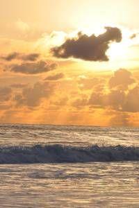 Sunset at Laguna Beach, CA HTC Butterfly Wallpaper