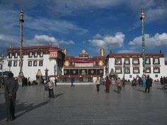 I find the history of the Dalai Lama and Tibet very interesting. I have read a lot about the topic. Obviously, Tibet and especially the Jokhang Temple are on my wishlist to visit one day. #Tibet