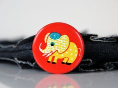 Vintage USSR pin with fun Elephant on it, made in Soviet Union 70s. $4.50, via Etsy.
