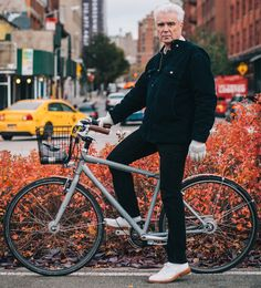 New York Bike Style: David Byrne