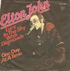 Elton John Lucy In The Sky With Diamonds Single.