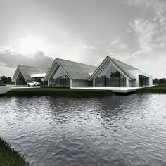 Kamyk Heritage Park / Tamizo Architects Toits en chaume