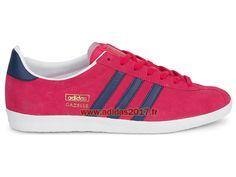 18267b9af36 Adidas Gazelle OG W - Chaussures de Originals Pas Cher Pour Homme Femme  Baze Pink Dark Slate G95609
