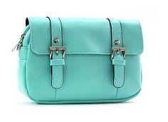 New Women's Mini bag Hipsack Shoulder Evening Cross Bag Korean Mint color