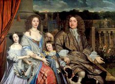 John Michael Wright. Family of Sir Robert Vyner, 1st Baronet, 1673: Lord Mayor of London, born in Warwick, migrated  to London,  apprenticed to his uncle, Sir Thomas Vyner (1558–1665), a goldsmith-banker, Lord Mayor of the City of London in 1674–1675. Alderman, knight, baronet by 1666.  Banker and goldsmith, he was close to the court; Charles II attended his mayoral dinner and borrowed $ from him.