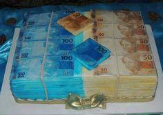 """MONEY CAKE .. """"Diz a lenda que quem compartilhar este bolo em 2 dias ficará rica """" HAHAHA!!!"""