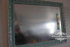 Vintage Frame Magnet Board