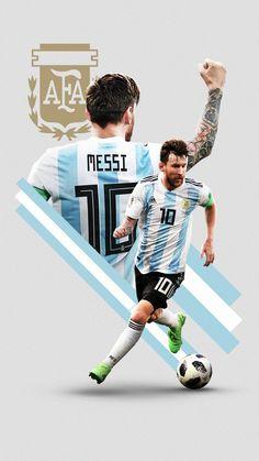Lionel Messi // Argentina // World Cup 2018 // FC Barcelona // Soccer Messi And Neymar, Messi Soccer, Messi And Ronaldo, Messi 10, Fc Barcelona, Lionel Messi Barcelona, Barcelona Soccer, Argentina Football, Animal Illustrations