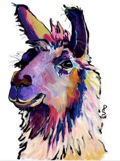 llama gift bolivia