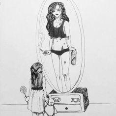 Imagem de sad and mirror