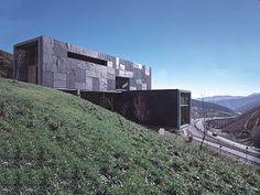 Centro de control de túneles en Piedrafita, Asturias