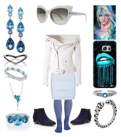 """Ice Queen"" by creation-gallery ❤ liked on Polyvore featuring Sam Edelman, Alexander McQueen, Faith Connexion, LALI Jewels, Eva Fehren, Allurez, Lab, Tom Ford, John Hardy and Lagos"
